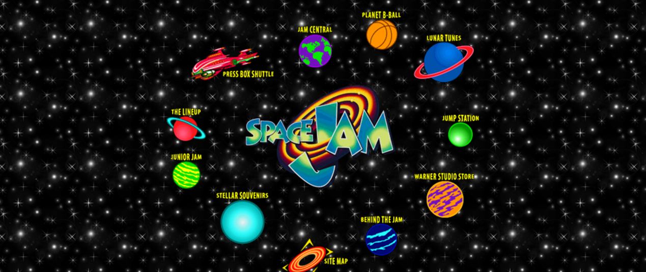 The Space Jam aesthetic, for guaranteed blog traffic!