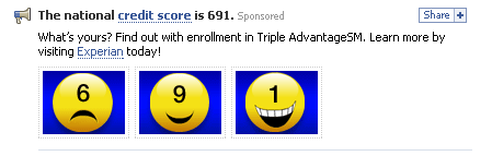 small ad on Facebook-meme's